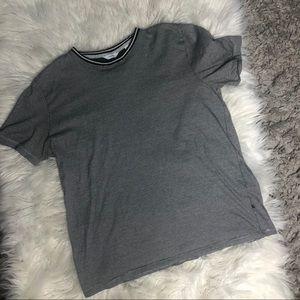 Calvin Klein liquid touch striped t-shirt large